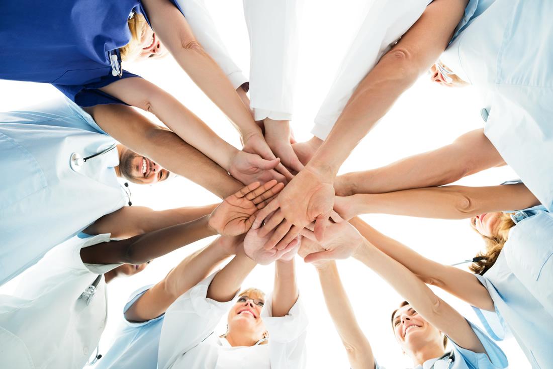 医療スタッフのチーム力アップを実現